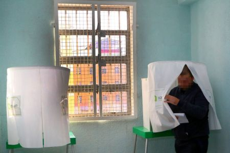 Voting process for the 2018 presidential elections is underway in penitentiary establishments